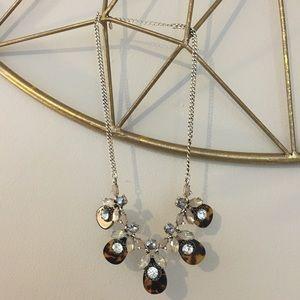 LOFT marble necklace
